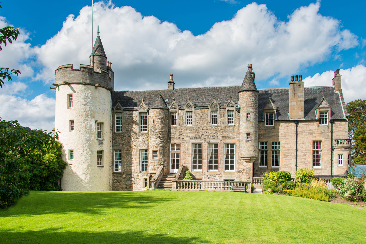 Craigcrook castle up for sale blog s1homes for Castle homes