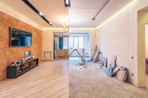 Renovation of studio room