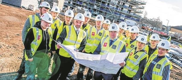 Charity and housebuilder join forces for the future