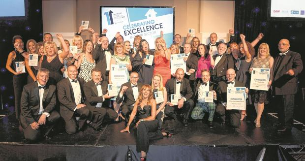 On top with team spirit at The Herald Property Awards