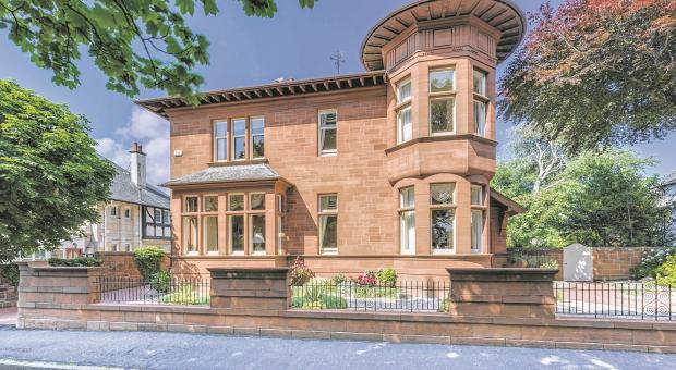 Hot property: Ayr home is a tower of strength
