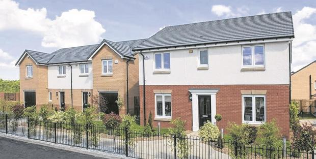 New build: Showhomes open in North Lanarkshire