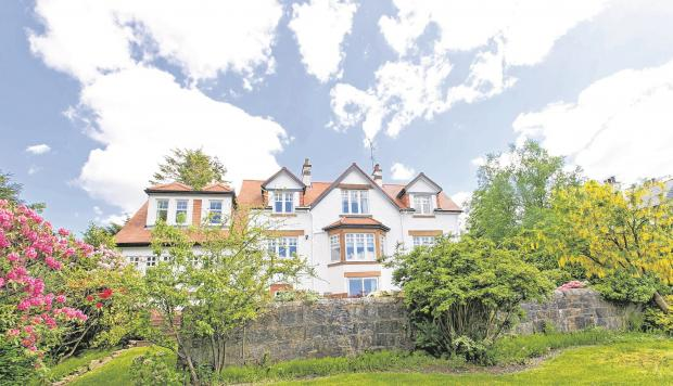 Hot property: Built by the man with the plan in Milngavie