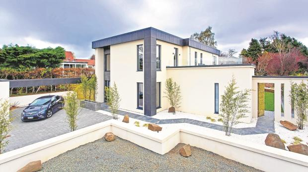 Hot property: Unique, modern design in Barnton, Edinburgh