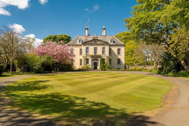 Hot property: Period home looks like a rural escape... but it is 10 minutes from Edinburgh city centre