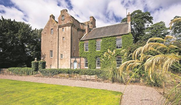 Hot property: An Aberdeenshire castle that was once owned by Prime Minister William Gladstone
