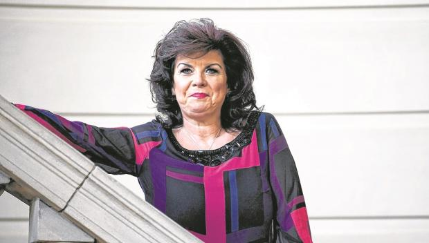 The view from my window: Elaine C Smith
