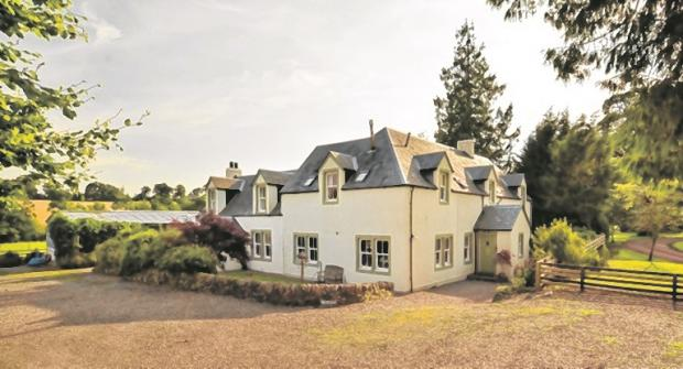 Hot property: This family home in Perthshire offers rural splendour in spades