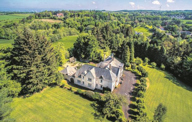 Hot property: Arts and Crafts marvel in five acres near Busby