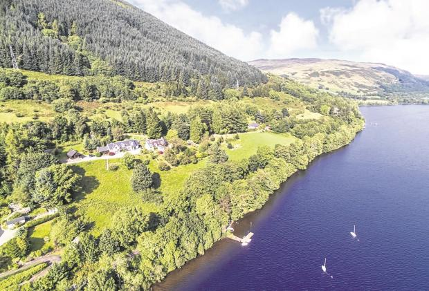 Premium property: At the loch and quay in Perthshire
