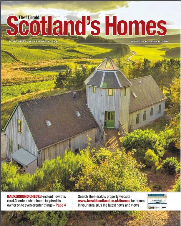 Scotland's Homes magazine November 16