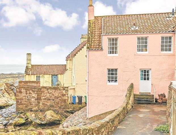 In the pink in Pittenweem