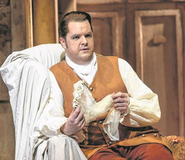 THE VIEW FROM MY WINDOW: Ben McAteer, opera singer