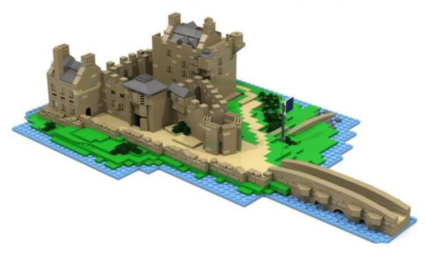 Iconic Scottish castle could become Lego kit