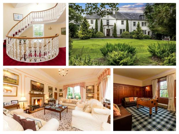 In pictures: Scottish mansion fit for a king on market for £975k