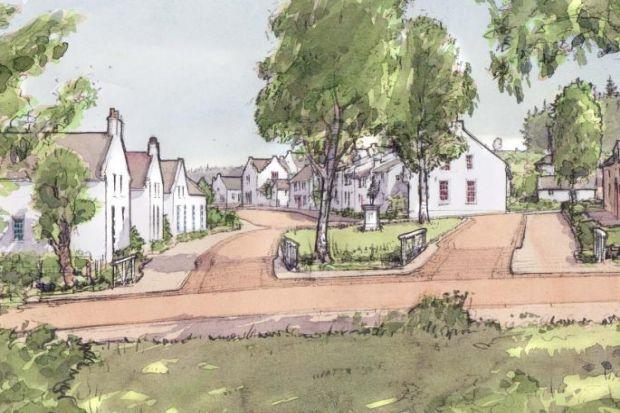 People move in to Scotland's first town in decades - where cars take a back seat