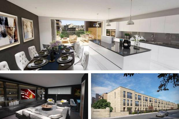In pictures: See inside stunning Glasgow townhouses on the market near Botanic Gardens