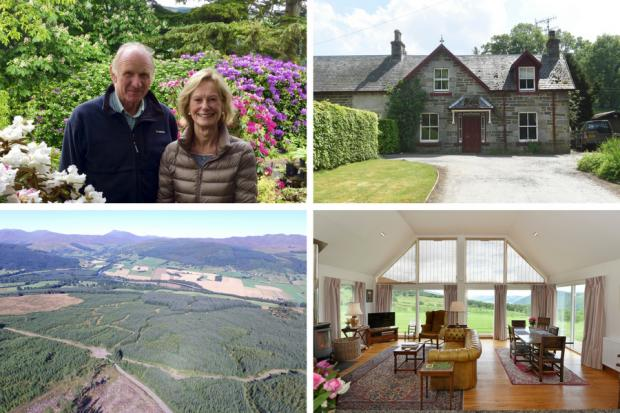 In pictures: Luxury Scottish estate goes on the market for over £10 million