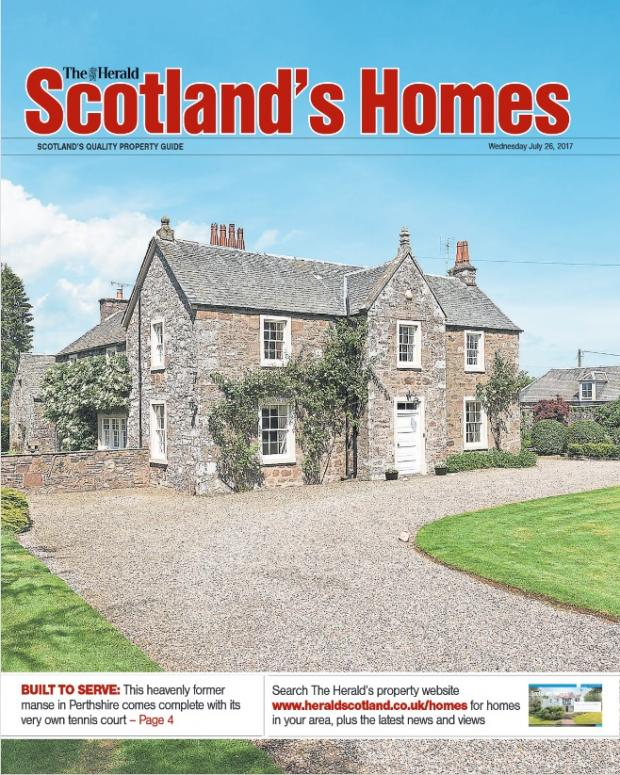 Scotland's Homes magazine July 26