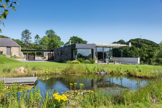 Buyers will need £1 million to get their hands on Scots Grand Designs dream home