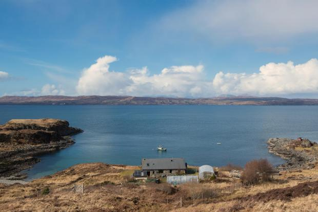 Scotland's Homes: Located in one of Scotland's most remote areas, this house is a nature lovers dream