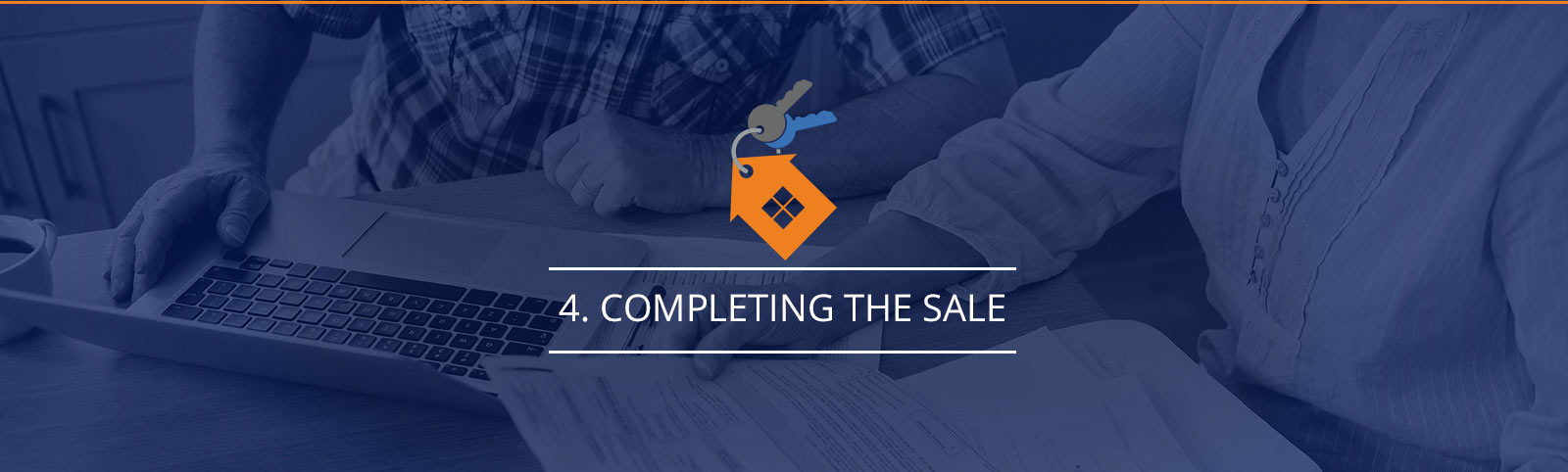 Completing the sale