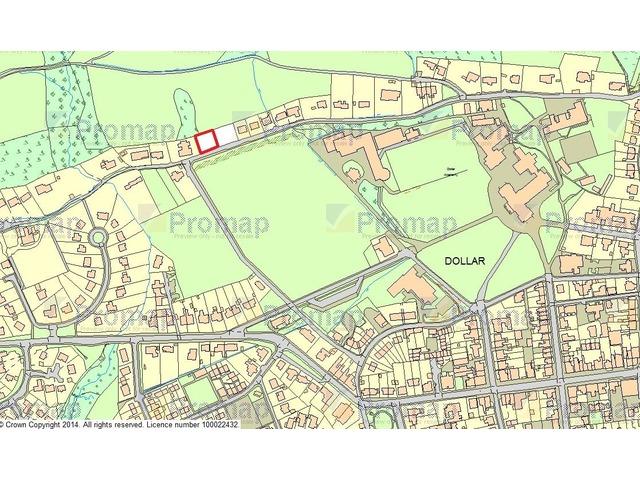 Plot for sale back road dollar clackmannanshire fk14 for 250000 dollar house