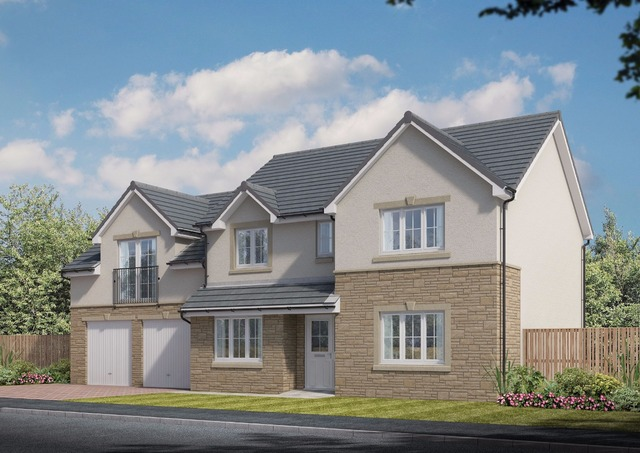 5 bedroom house for sale turnberry glenmill darnley
