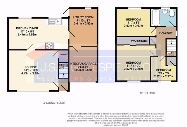 3 bedroom house for sale 7 roxburgh place stenhousemuir for Schedule j bedroom description