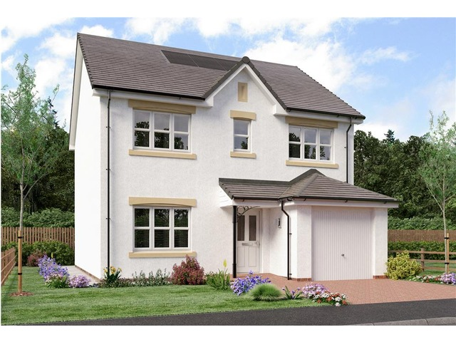 4 bedroom house for sale, Shaw, Miller Homes at Shawfair ...