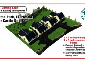 Laurieston Park Development, Laurieston, Castle Douglas, DG7 2PT