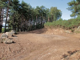 Pine Trees building Plot Quarrywood, Aberlour, AB38 9LR