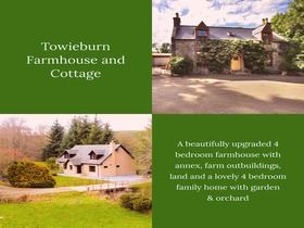 Towieburn House And Cottage, Drummuir, Keith, AB55 5JA