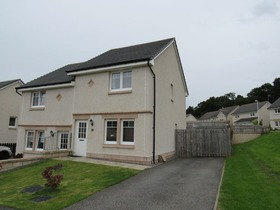 Two Bedroom Semi Detached House For Sale, Slackbuie, Inverness, IV2 6BJ