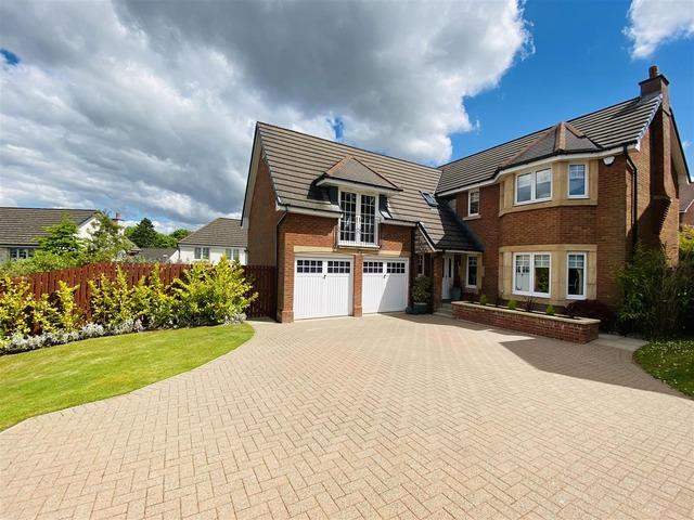 5 Bedroom House For Sale Fortrose Court West Craigs Hamilton G72 0gj 375 000