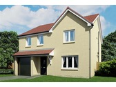 The Geddes - Plot 17, Taylor Wimpey at Kingseat, Off Kingseat Road, Dunfermline, Fife, KY12 0UN