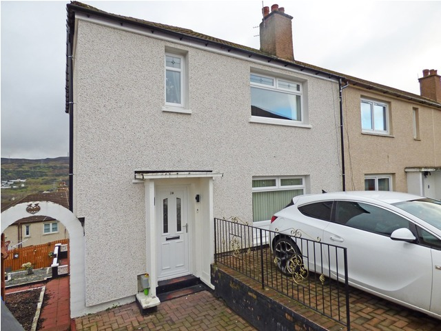Devon Road Greenock Inverclyde Pa Bedroom End Terraced House For Sale